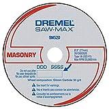 Dremel SM520c 3-Inch Masonry Cut-Off Wheel, 3-Pack , Black