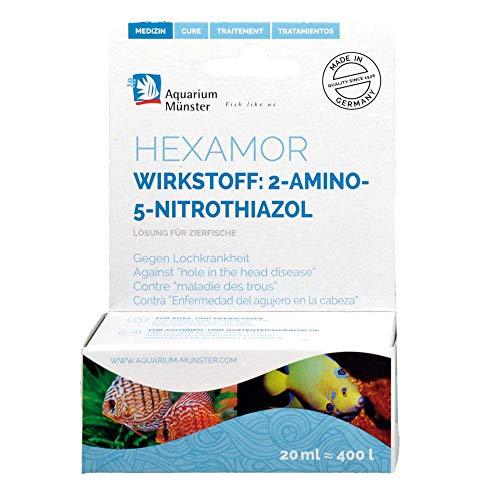 Aquarium Münster HEXAMOR 20ml (Ed+EM) = 400L pour Aquariophilie