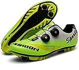 Zapatillas de Bicicleta Unisex con Cerradura, Zapatillas de...