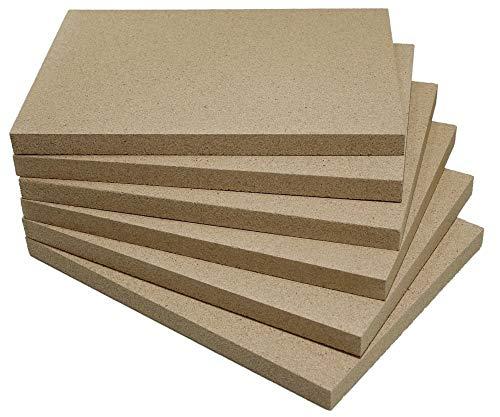 Vermiculite-Platte (6, 500 x 300 x 25 mm)