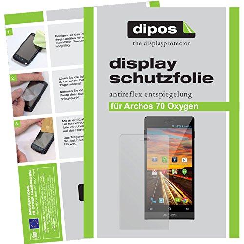 dipos I 2X Schutzfolie matt kompatibel mit Archos 70 Oxygen Folie Bildschirmschutzfolie