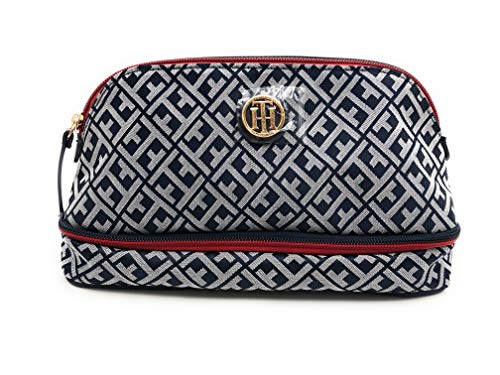 Tommy Hilfiger Tasche - Kosmetiktasche klein - Beautytasche klein - Schminktasche - TH Logo - 30x15x8cm - Damen 6598