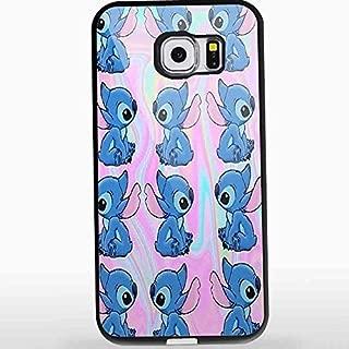 Lilo and Stitch Ohana Alien Emoji for Iphone and Samsung Galaxy Case (Samsung Galaxy S6 black)