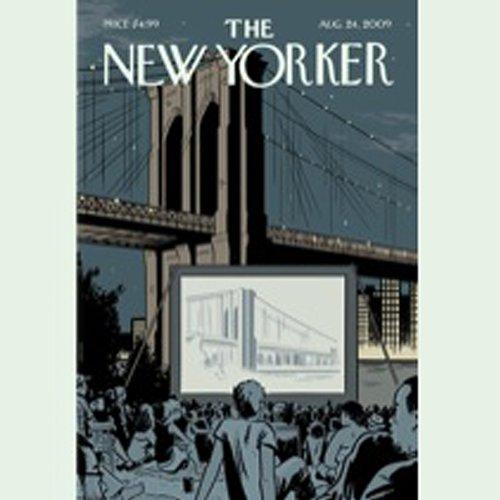 The New Yorker, August 24, 2009 (Alec Wilkinson, David Sedaris, Tad Friend) cover art