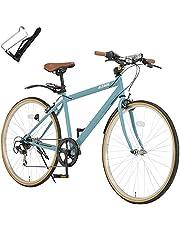 ALTAGE(アルテージ) ACR-001 クロスバイク 自転車 26インチ 6段変速 可変ステム 前後フェンダー
