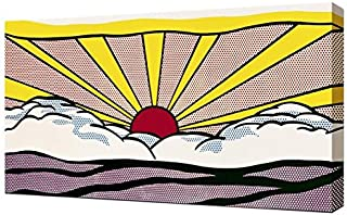 Lilarama Roy Lichtenstein Sunrise Framed Canvas Art Print Reproduction