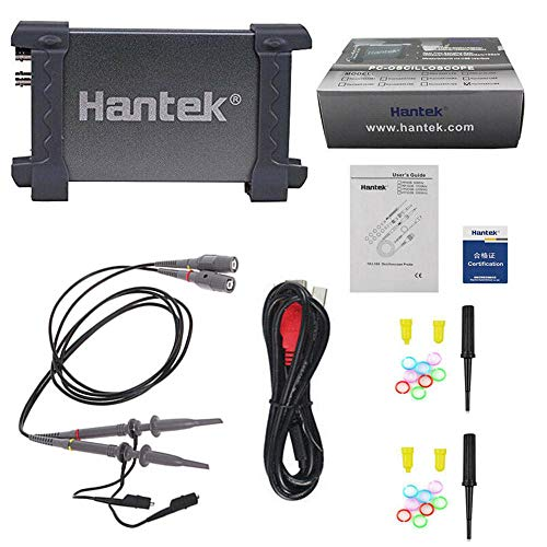 Panthem 6022BE Digita osciloscopio de 20 MHz, soporte PC USB para reparación de coche, herramienta de prueba de mantenimiento
