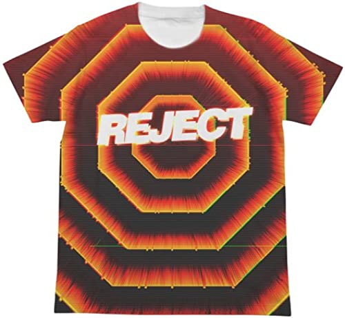 Evangelion A. T. Feld voller Grafik-T-Shirt Weißs M Groesse