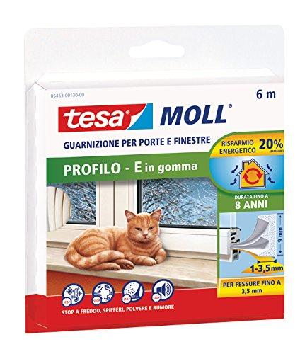 Tesa 05463-00130-00 Guarnizione In Gomma, Bianco, Taglia Unica