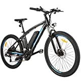 "ANCHEER Electric Bike, 48V 500W 27.5"" Electric Mountain Bike with Removable 48V 10Ah Battery and 21 Speed Gearss"