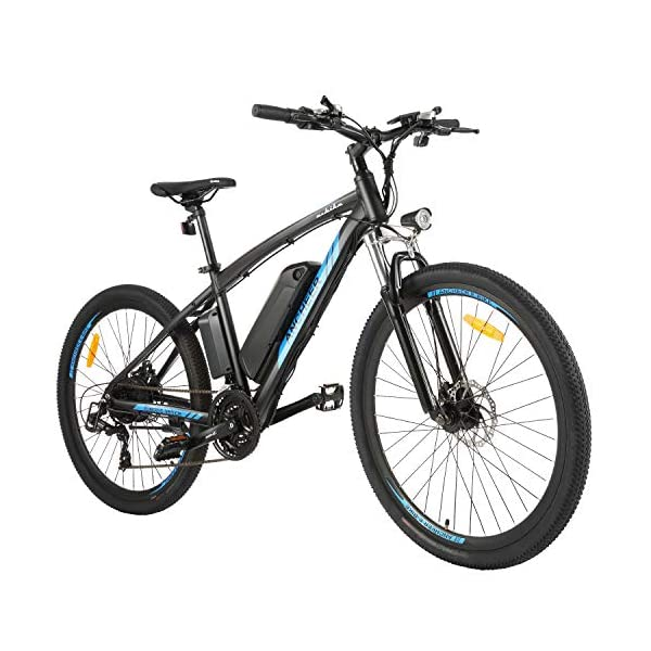 "516mx3bmjsL. SS600  - ANCHEER Elektrofahrrad Ebike Mountainbike, 26""/27.5"" Elektrisches Fahrrad mit 36V 8Ah/10Ah/12.5Ah Lithium-Batterie und Shimano 21-Gang"