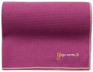 Yogaworks(ヨガワークス)ワッフルヨガラグ アサイ YW-A160-C112