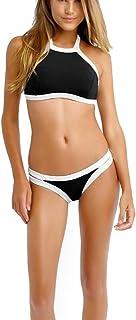 e4608c5d72 DFXIU Pad Sportivo Sexy Donna Bikini Copricostume Costume Donna Mare Due  Pezzi Ragazza Mare Costume da