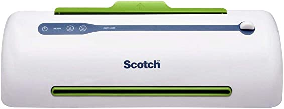Scotch TL906 Thermal Laminator, Never Jam Technology Automatically Prevents Misfed Items, 2 Roller System , 9 inch