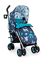 Suitable from birth – supa 3 is compact from-birth stroller. suitable up to 25kg, the sturdy but lightweight 9kg chassis lets your toddler use it for longer Easy to use – this lightweight stroller has a handy compact umbrella fold and carry handle so...