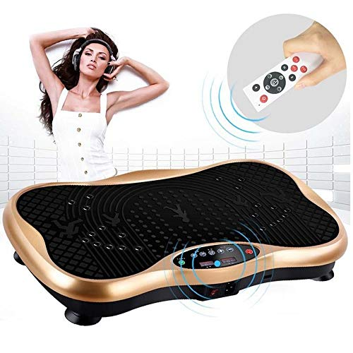 CHTINGDAMAI Vibrationsplatte Fitness Sport, Vibrationstraining,Vibrationsplatte Testsieger 2019 150Kg