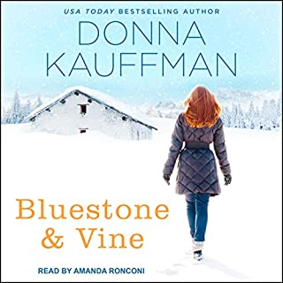 Bluestone & Vine     Blue Hollow Falls Series, Book 2              Written by:                                                                                                                                 Donna Kauffman                               Narrated by:                                                                                                                                 Amanda Ronconi                      Length: 10 hrs and 3 mins     Not rated yet     Overall 0.0