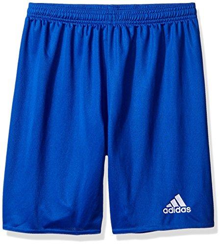 adidas Boys' Parma 16 Shorts, Bold Blue/White, Medium