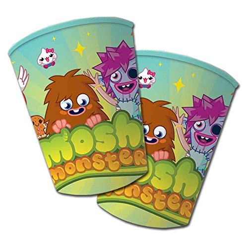 Moshi Monsters Birthday Party Cups 1 pack de 8