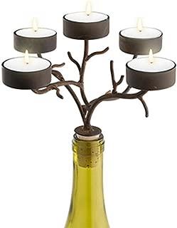 Epic 42-265 Black Iron Multi Branch Designed Candelabra for 5 Tealight Candles