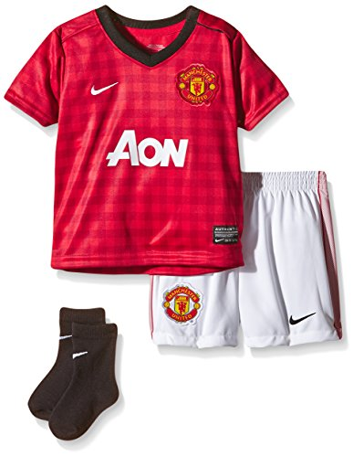 Nike Baby Trikot Manchester United Infants Kit, Diablo red/Black/White, 18-24, 479276-623