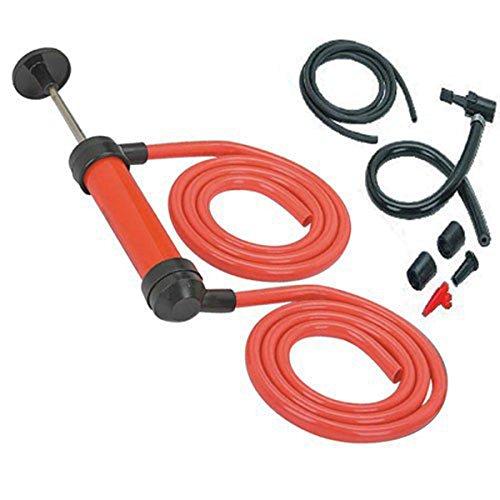 TekBox Multi Purpose Deluxe Siphon Pump For Fuel Water Oil Liquid Petrol...