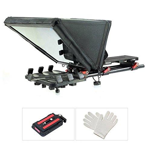 Proaim Universal Tablet Teleprompter (P-TP300) para iPad cámaras para Cine, Video, Video Online y producción de Medios sociales | Estuche Duro