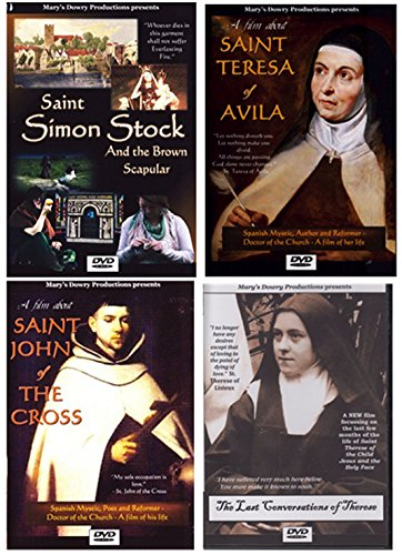Saint Simon Stock and the Brown Scapular, Carmelites, DVD Film, Our Lady of Mount Carmel, Scapular, Catholic Devotion, Saints