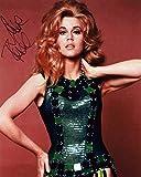 FP Jane Fonda Signiert Autogramme 25cm x 20cm Foto