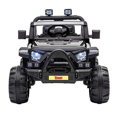 TOBBI 12v Kids Ride On Truck with Remote Control, Battery...