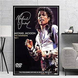 Pop Rock muzyka legenda gwiazda piosenkarka taniec król Michael Jackson klasyczne poza zdjęcia płótno obraz sztuka ścienna...
