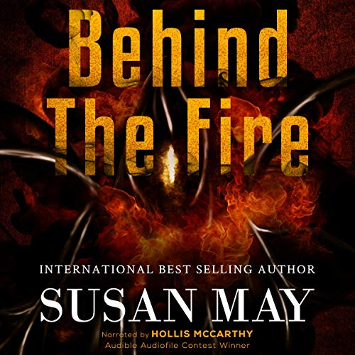 Behind the Fire audiobook cover art