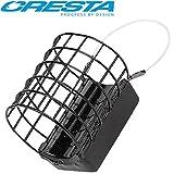 Cresta Cage Feeder XL 3,5x4,2cm - Futterkorb zum Feederangeln auf Friedfisch, Feederkorb zum Feedern...