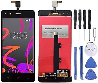Beilaishi Reparationssats för mobiltelefoner LCD-skärm och digitaliserare full montering för BQ Aquaris M4.5 (svart) reser...