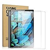 Katumo Bildschirmschutzfolie kompatibel mit Lenovo Yoga Smart Tab 25,7 cm (10,1 Zoll), gehärtetes Glas, Bildschirmschutzfolie für Yoga Smart Tablet YT-X705F, 2 Stück