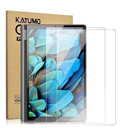 Katumo Displayschutzfolie kompatibel mit Lenovo Yoga Smart Tab 25,7 cm (10,1 Zoll), gehärtetes Glas, Displayschutzfolie für Yoga Smart Tablet YT-X705F, 2 Stück
