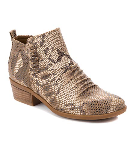 BareTraps Grafton Women's Boots Almond Size 8.5 M (BT24971)