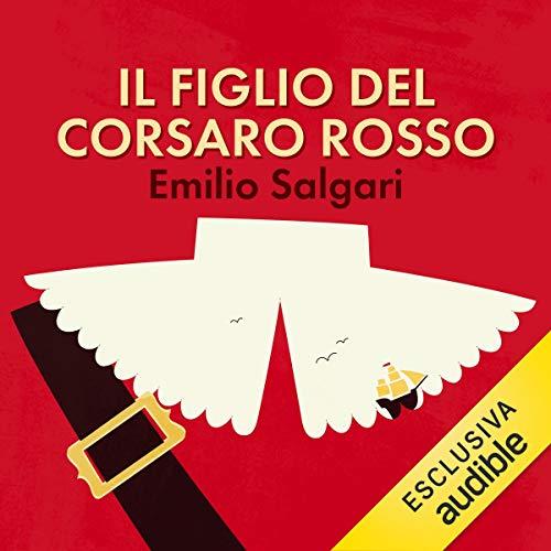 Il figlio del corsaro rosso audiobook cover art