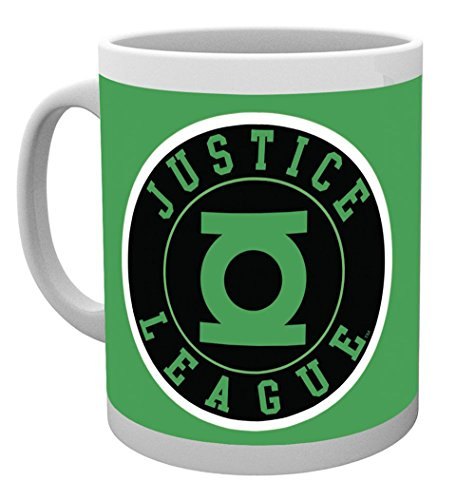 GB Eye, DC Comics, Green Lantern, Ligue de Justice, Mug