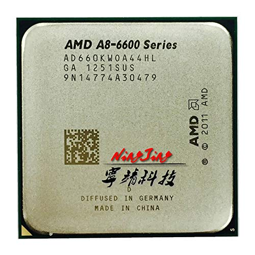 A8-Series A8 6600K A8 6600 3.9GHz Quad-Core CPU Processor AD660KWOA44HL Socket FM2