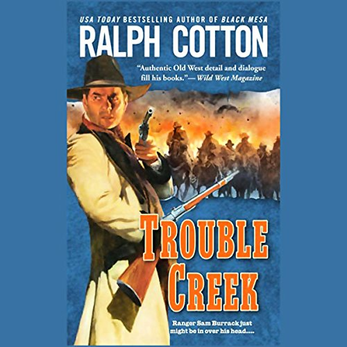 Trouble Creek  audiobook cover art