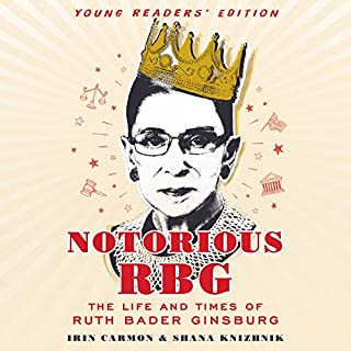 Notorious RBG: Young Readers' Edition audiobook cover art