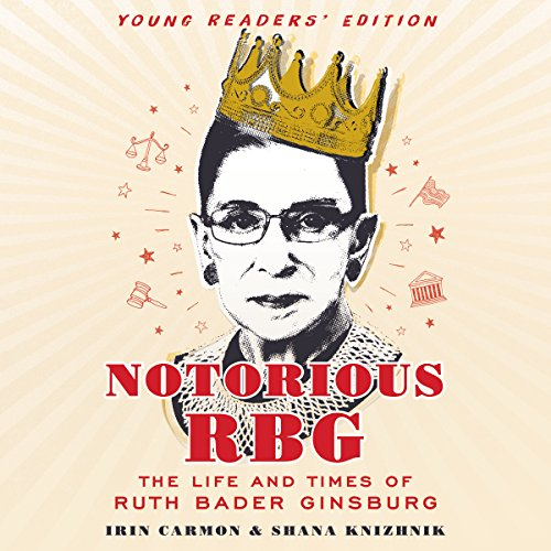 『Notorious RBG: Young Readers' Edition』のカバーアート
