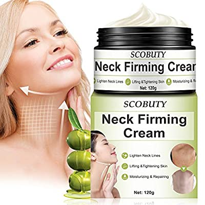 Neck Firming Cream,Neck Cream,Neck Tightening Cream,Neck Wrinkle Cream,Neck Moisturizer Cream,Anti-Aging Firming Neck Cream for Neck Décolleté Double Chin Turkey Neck Saggings Crepe