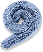 New Pig Blue Absorbent Sock, 95 oz Absorbency, Forms Barrier & Prevents Spills from Spreading, 3