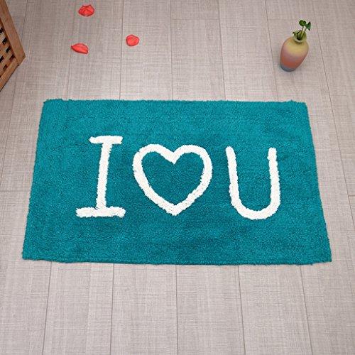 CKH badmat van katoen, originele Talking Love slaapkamer, badmat absorberend, antislip