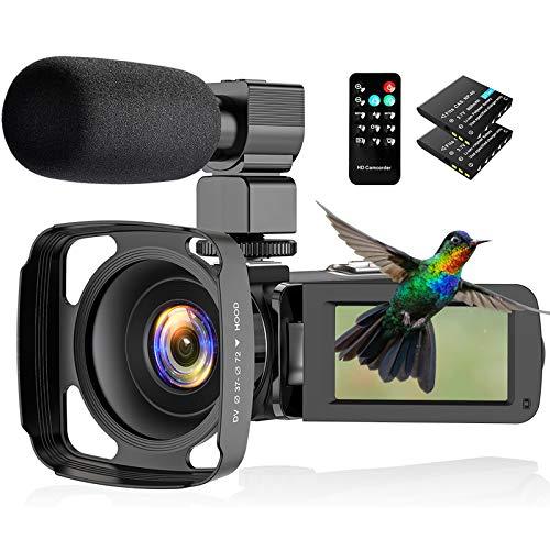 CamVeo 2.7K Videocámara Camcorder,...