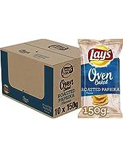Lay's Oven Baked Chips Roasted Paprika, Doos 10 stuks x 150 g