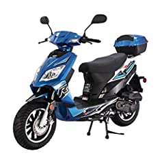 Feisty 50cc, air-cooled, 4-stroke engine puts out strong, predictable power with incredible gas mileage. Fan-assisted Air cooling system keeps engine temperatures reliably under control, even while idling at stoplights--for maximum efficiency and lon...