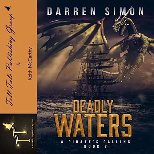 Deadly Waters: A Pirate's Calling audiobook cover art